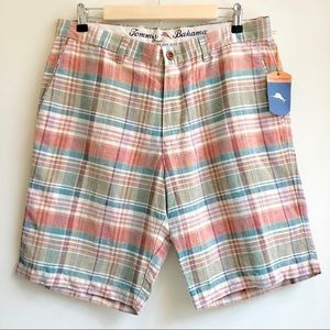 Tommy Bahama | NWT Plaid Shorts